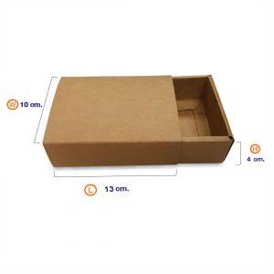 กล่องกระดาษคราฟท์-ทรงลิ้นชัก(ฝา+ตัว)-HT2-3
