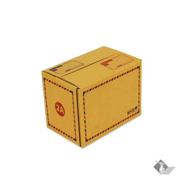 กล่องไปรษณีย์ เบอร์ 2A กว้าง 14 ยาว 20 สูง 12 ซม.