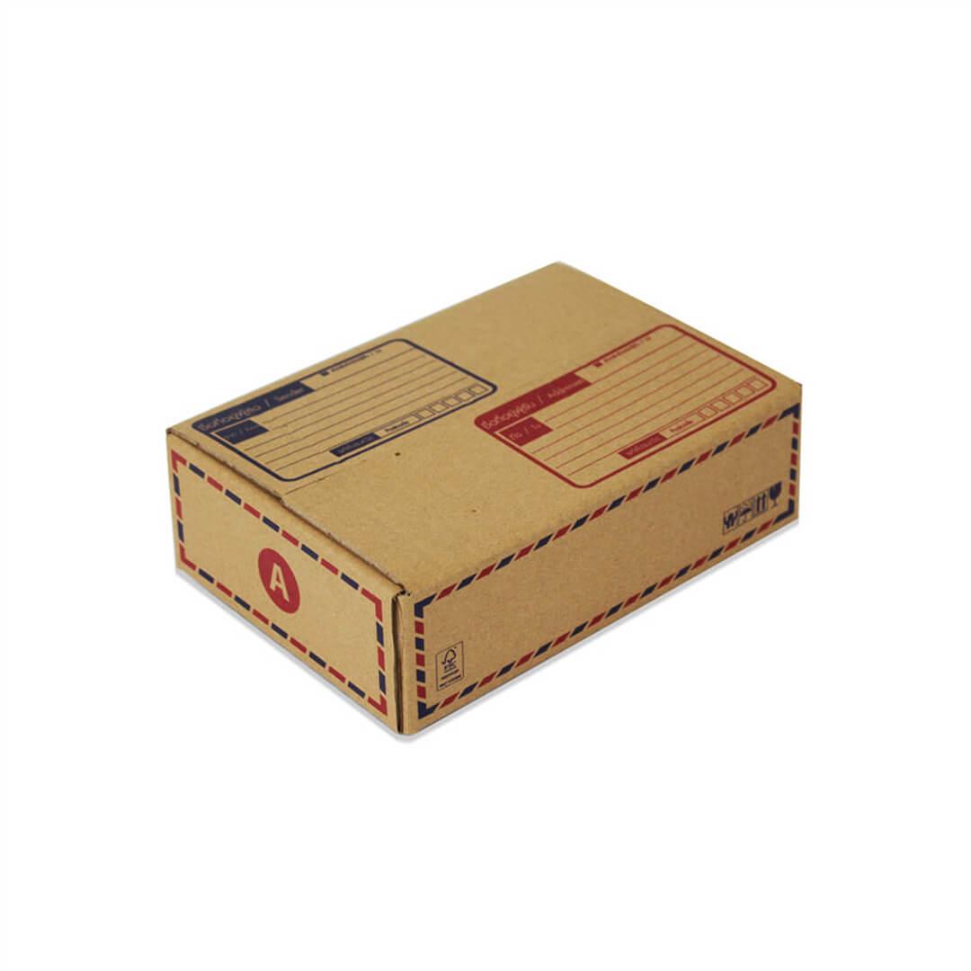 กล่องเบอร์ A(ก) 20x14x6 cm (ยxกxส)