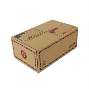 กล่องไปรษณีย์ เบอร์ D กว้าง 22 ยาว 35 สูง 14 เซนติเมตร