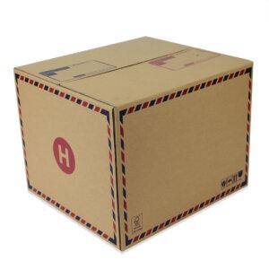 กล่องเบอร์ H 45x41x35 cm (ยxกxส)