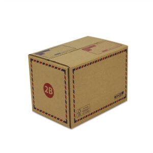 กล่องเบอร์ 2B 25x17x18 cm (ยxกxส)