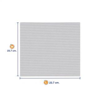 กระดาษลูกฟูกรองอาหาร-สี่เหลี่ยม-ขนาด-9-นิ้ว-cover2
