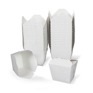 กล่องกระดาษใส่อาหาร To go ทรงสูง 16 ออนซ์