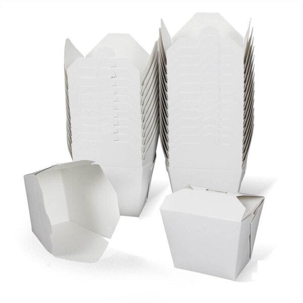 กล่องกระดาษใส่อาหาร ทรงสูง 26 ออนซ์