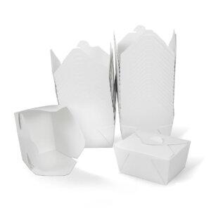 กล่องกระดาษใส่อาหาร To go ทรงกว้าง 26 ออนซ์