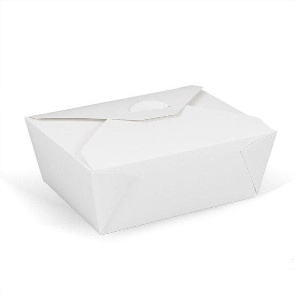 กล่องอาหารพร้อมทาน ทรงกว้าง 45 ออนซ์