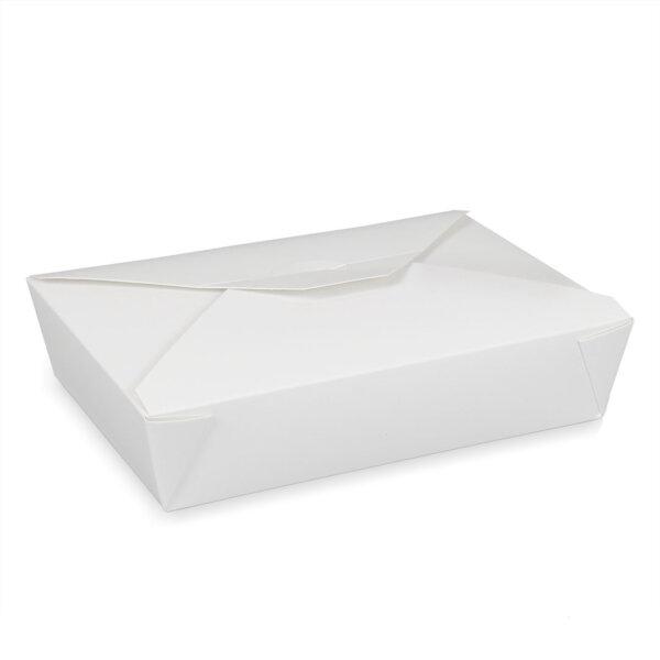 กล่องอาหารพร้อมทาน ทรงกว้าง 49 ออนซ์