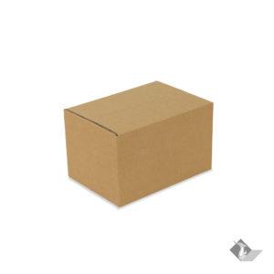 กล่องเบอร์ 2A ไม่มีจ่าหน้า สีน้ำตาล