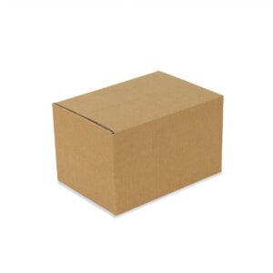 กล่องกระดาษลูกฟูก เบอร์ 2B 25x17x18 cm