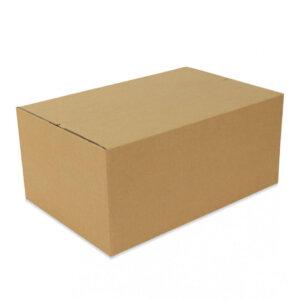 กล่องกระดาษลูกฟูก เบอร์ F 45x30x20 cm