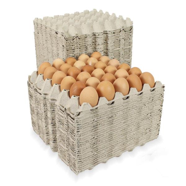 แผงไข่กระดาษ แบบมีรู 29.5x29.5x4.7 cm