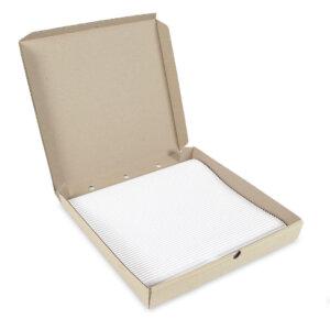 กระดาษรองอาหาร สี่เหลี่ยม ขนาด 14 นิ้ว
