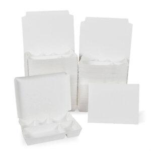 กล่องกระดาษใส่อาหาร 5 ช่อง สีขาว