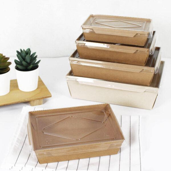 กล่องไฮบริด บรรจุภัณฑ์อาหาร