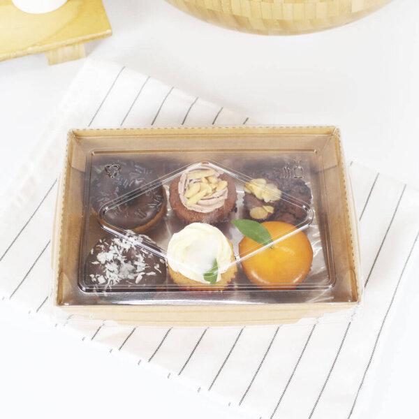 กล่องไฮบริด บรรจุภัณฑ์อาหาร 25 oz