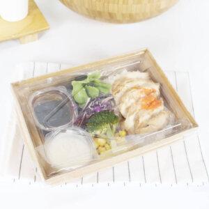 กล่องไฮบริด บรรจุภัณฑ์อาหาร 30 oz