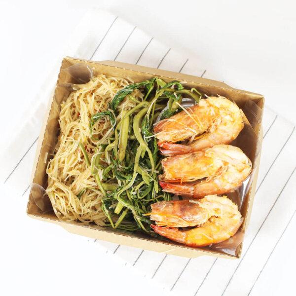 กล่องไฮบริด บรรจุภัณฑ์อาหาร 40 oz