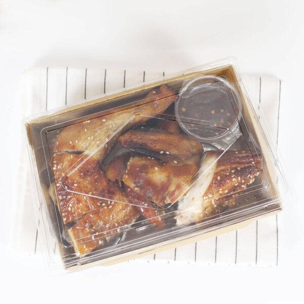 กล่องไฮบริด บรรจุภัณฑ์อาหาร 55 oz