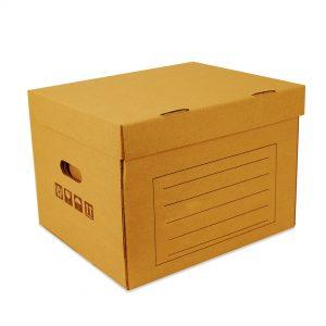 กล่องใส่เอกสาร No.1 สูงเท่า A4 5 รีมวางซ้อนกัน