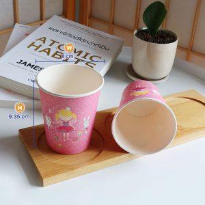 แก้วกระดาษสีชมพู-8-ออนซ์-ลายเด็กผู้หญิง(Girl)-cover2