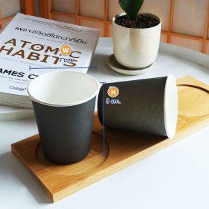 แก้วกระดาษสีดำ-6-ออนซ์-ปกหงส์ไทน