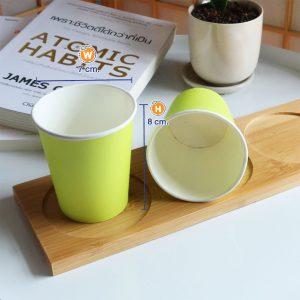 แก้วกระดาษสีเขียวมะนาว-6-ออนซ์-ปกหงส์ไทย