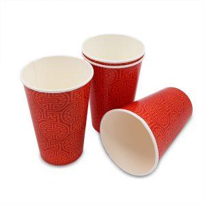 แก้วกระดาษ-ลายจีนสีแดง-16-ออนซ์