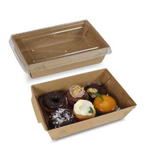 กล่องไฮบริด กล่องฝาปิด 25 oz / 700 มล.(S)