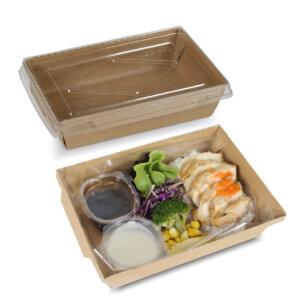 กล่องไฮบริด กล่องฝาปิด 30 oz / 900 มล.(M)