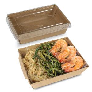 กล่องไฮบริด กล่องฝาปิด 40 oz / 1200 มล.(L)