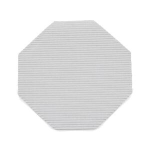 กระดาษลูกฟูกรองอาหาร แปดเหลี่ยม ขนาด 9 นิ้ว