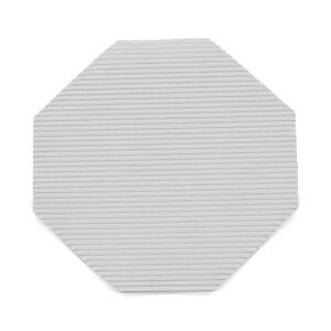 กระดาษลูกฟูกรองอาหาร แปดเหลี่ยม ขนาด 12 นิ้ว