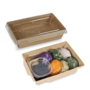 กล่องไฮบริด กล่องฝาปิด 20 oz / 500 มล.(SS)