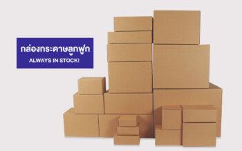 กล่องกระดาษลูกฟูก โรงงานผลิตบรรจุภัณฑ์กระดาษ