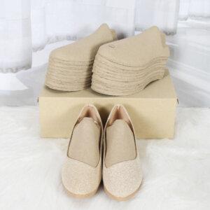 กระดาษดันทรงรองเท้า size s