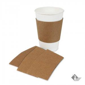 ปลอกกระดาษสวมแก้ว cup sleeve