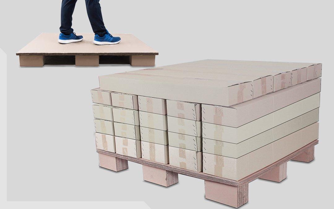 พาเลทกระดาษ โรงงานผลิตกล่องกระดาษ
