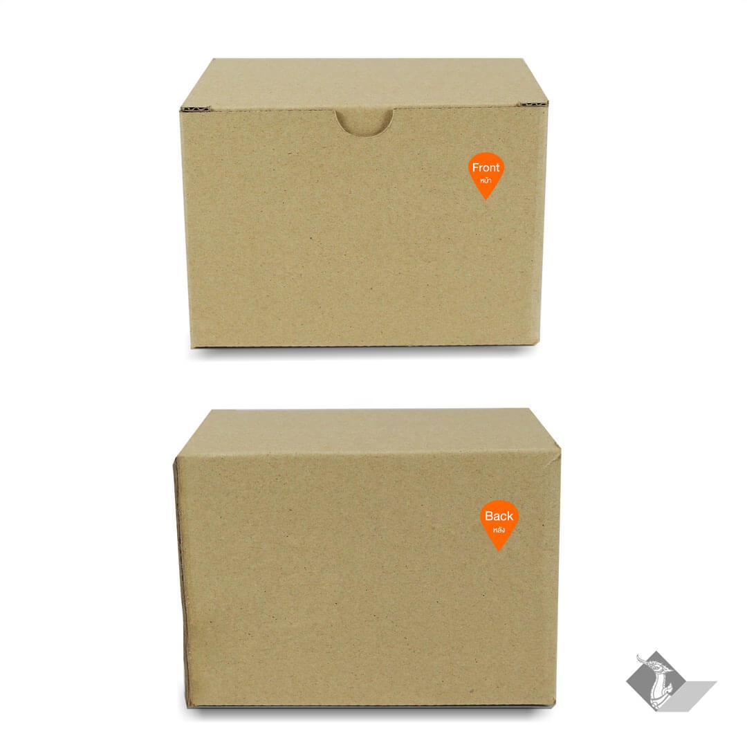 กล่องหมูทอด ขนาด 12.7x8.9x9.2 ซม.