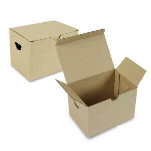กล่องหมูทอด ขนาด 12.7×8.9×9.2 ซม.