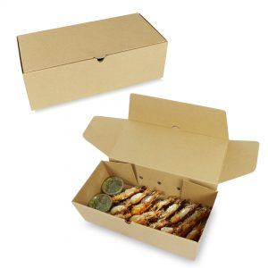 กล่องใส่อาหารทะเล Size L ขนาด 38x18x11.5 ซม.