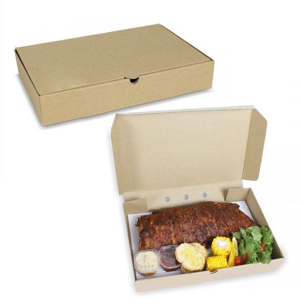 กล่องใส่อาหารทะเล Size M ขนาด 35x23x6 ซม.