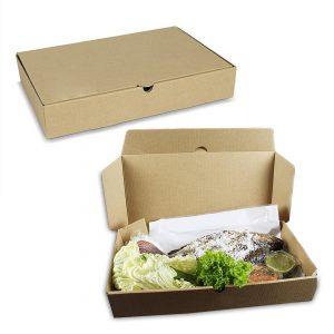 กล่องใส่อาหารทะเล Size S ขนาด 35x19x6 ซม.