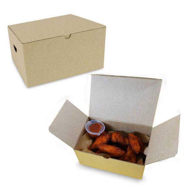 กล่องไก่ทอด Size L ขนาดเดียวกับกล่อง KFC ขนาดใหญ่-รวม