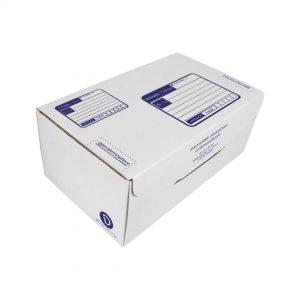 กล่องไปรษณีย์ ไดคัทสีขาว เบอร์ จ. ขนาด 40x24x17 ซม. (ยxกxส)