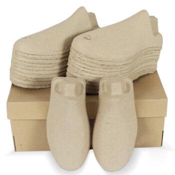 กระดาษดันทรงรองเท้า (Pulp Mold Shoe Inserts)