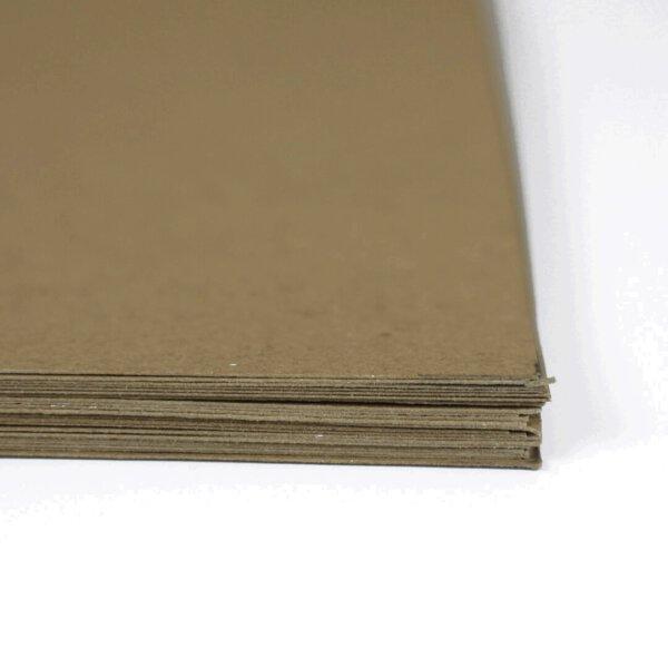 กระดาษคราฟท์สีน้ำตาลธรรมชาติ