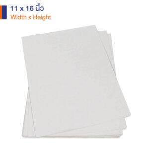 กระดาษคราฟท์สีขาว 170 แกรม ขนาด 11×16 นิ้ว