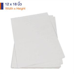 กระดาษคราฟท์สีขาว 12x12 นิ้ว 170 แกรม