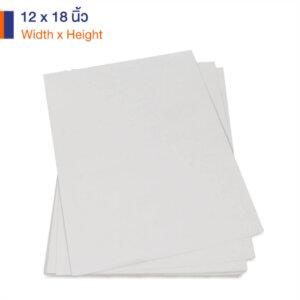 กระดาษคราฟท์สีขาว 12x18 นิ้ว 170 แกรมกระดาษคราฟท์สีขาว 12x18 นิ้ว 170 แกรม